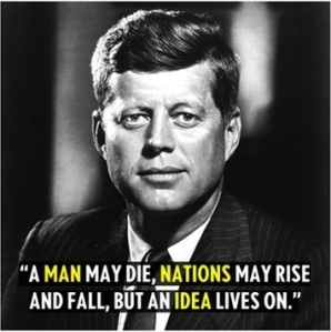 JFK: rise & fall of nations