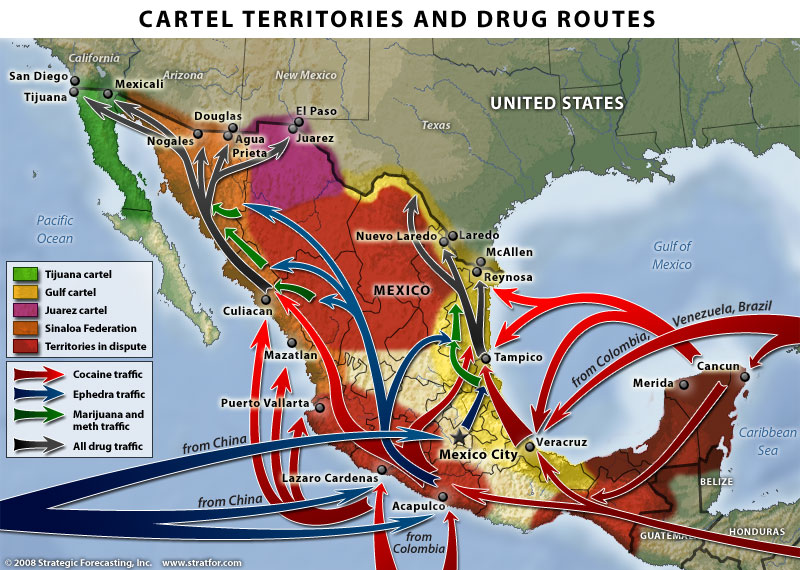 Mexican Drug Cartels (from Stratfor)