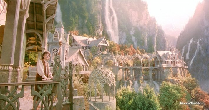 """Rivendell in """"Lord of the Rings."""""""