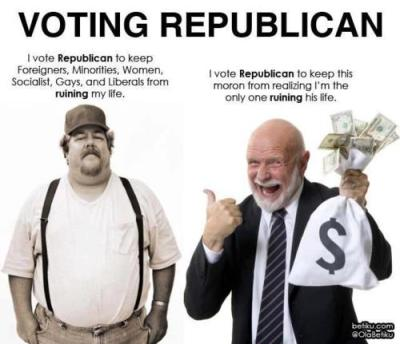 Two sides of the GOP