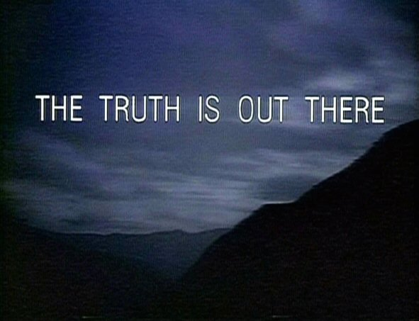 The  X Files Wallpaper Trust No One