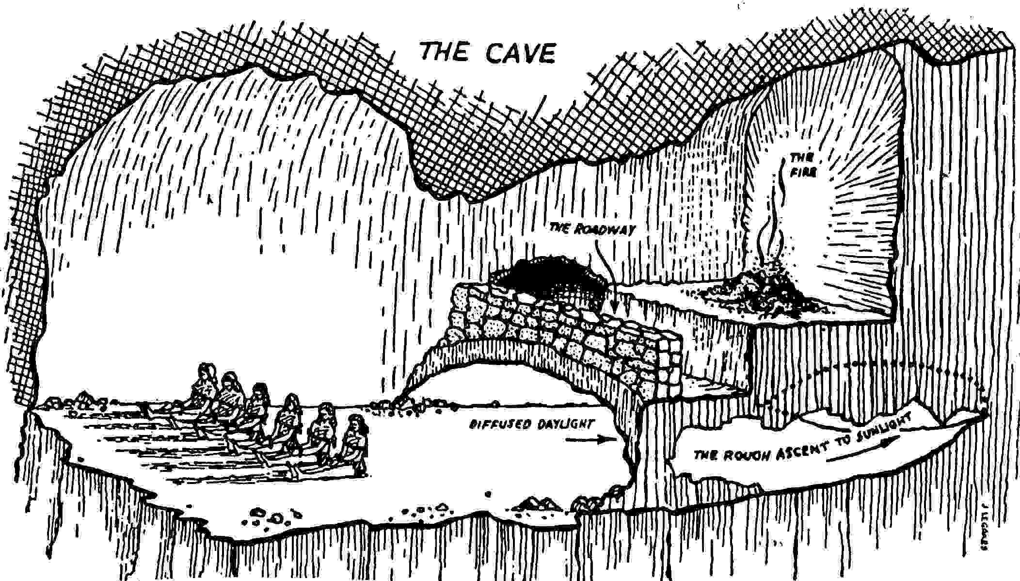 the allegory of the cave platos beliefs and concept of life itself in the republic The powerpoint ppt presentation: metaphorical representation in platos allegory of the cave is the property of its rightful owner do you have powerpoint slides to share if so, share your ppt presentation slides online with powershowcom.
