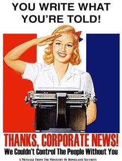 Corporate propaganda