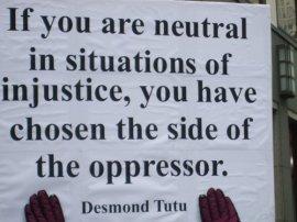 Tutu's advice about civil disobedience