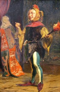 The Court Jester by Thomas Davidson (1877)
