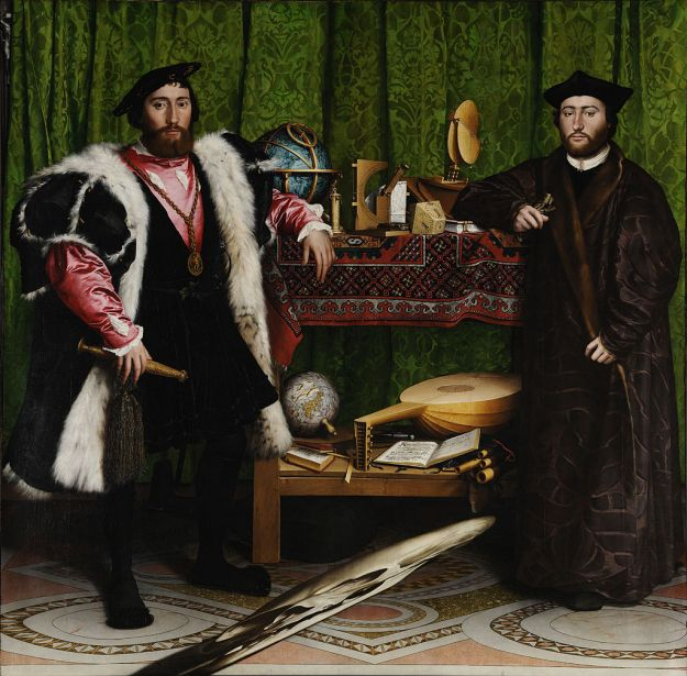 """""""The Ambassadors"""" by Hans Holbein the Younger"""