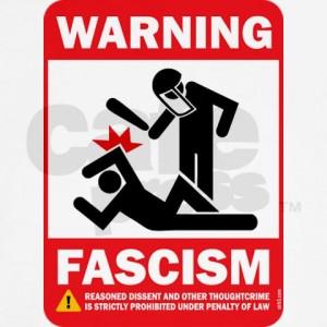 Fascism Warning Poster