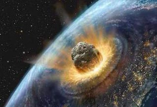 Impact of comet or asteroid