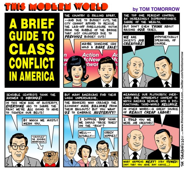 Class War by Tom Tomorrow
