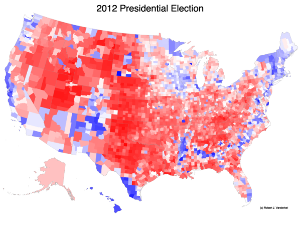 Election 2012 - by country