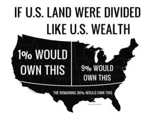 Wealth distribution of USA