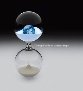 Climate Change hourglass