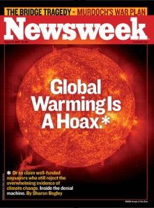 Newsweek: global warming hoax