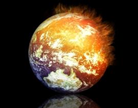 Globe Aflame
