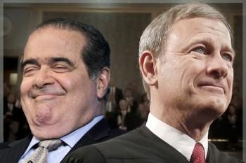 Scalia and Roberts