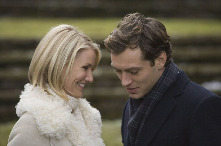 """Cameron Diaz & Jude Law in """"The Holiday"""""""