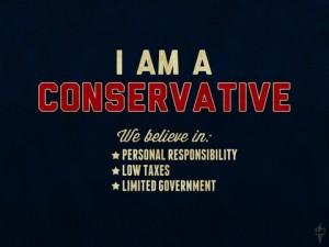 I am a Conservative