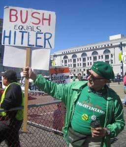 Bush = Hitler