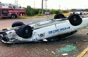 Ferguson: police car