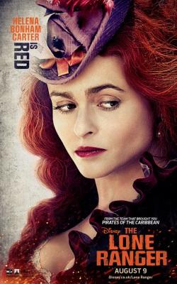 Helena Bonham Carter in the Lone Ranger
