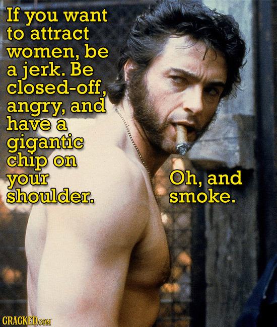 Girls love Wolverine