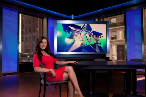 Andrea Tantaros at work