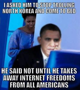 CyberWarrior Obama