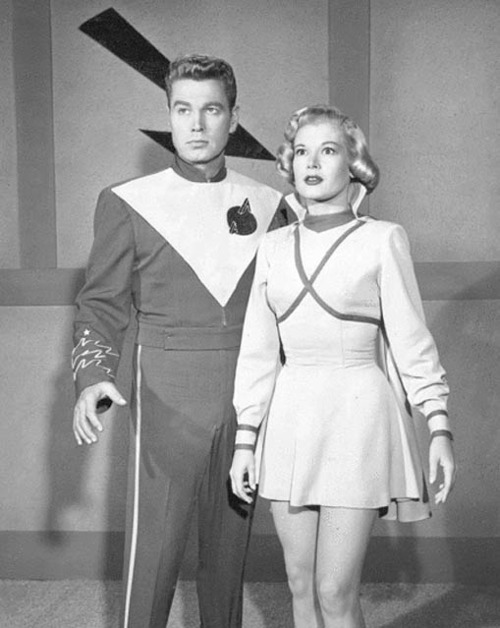"Sally Mansfield as Vena Ray in ""Rocky Jones: Space Ranger"""