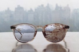 John Lennon's bloody glasses