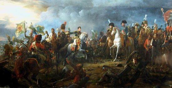 """""""Battle of Austerlitz"""" by François Gérard (1810)"""