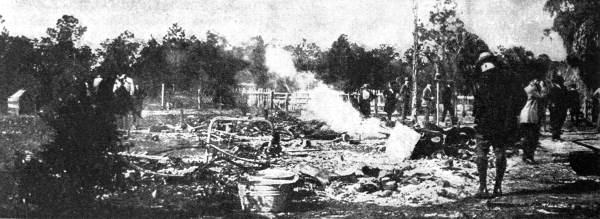 Rosewood, Florida after the 1923 riots