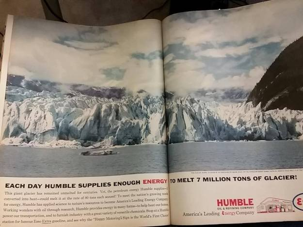 Oil Company Advertisement from 1962