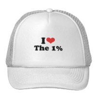 """I love the 1%"""