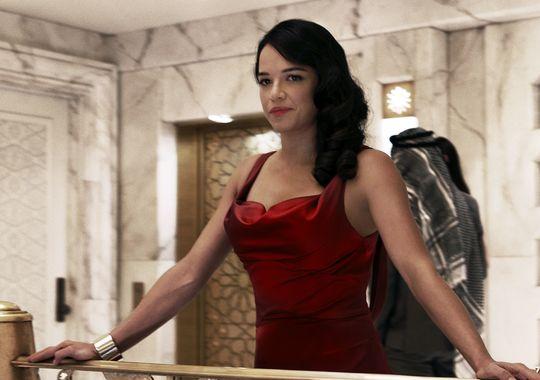 Letty fast 7 red dress cartoon