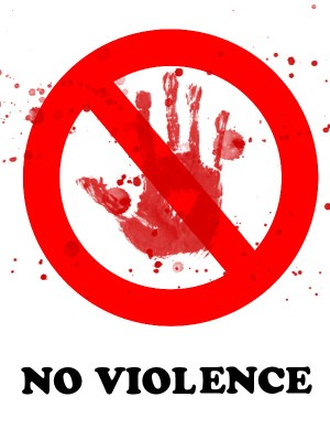 """""""No Violence"""" by shit2009"""