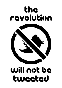 """Twitter Revolution"" by Tim Dunn at DeviantArt"