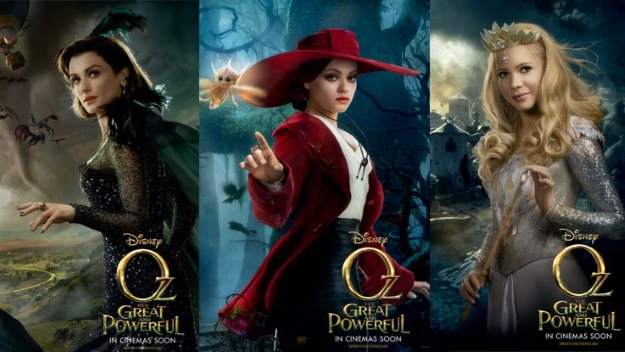 """Witches in """"Oz the Great and Powerful"""""""