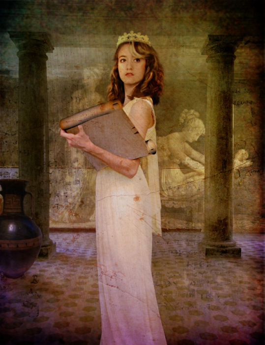 Clio, the Muse of History, by violscraper