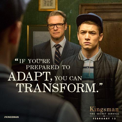 Kingsman The Secret Service Quotes: Kingsman: A Mirror Too Disturbing For Critics