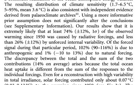 Huber-Krutti attribution text. From Nature Geoscience, January 2012.