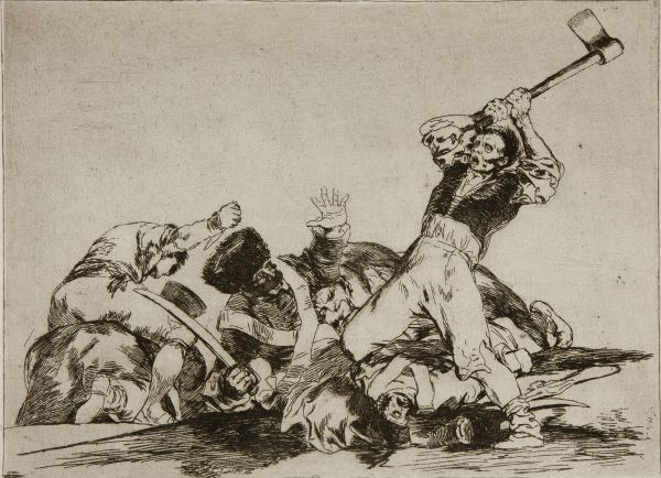 """""""The Disasters of War"""" by Francisco Goya."""