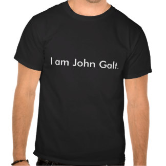 """I am John Galt"" t-shirt"