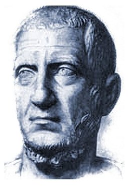 The face of Tacitus