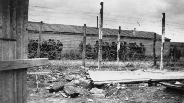 Internment Camp after Easter Rising In Ireland