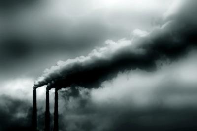 Polluted skies