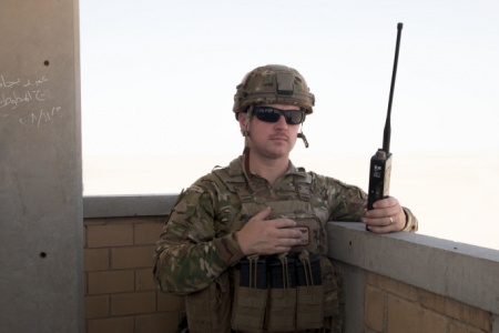 Kevin Fisher, USAF in Kuwait