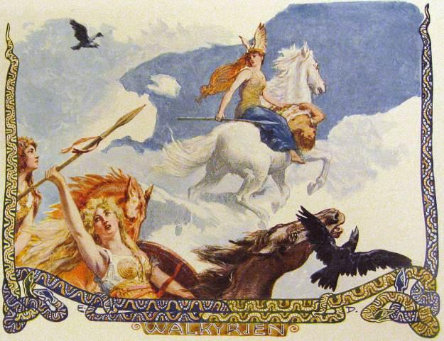 Walkyrien by Emil Doepler (ca. 1905)