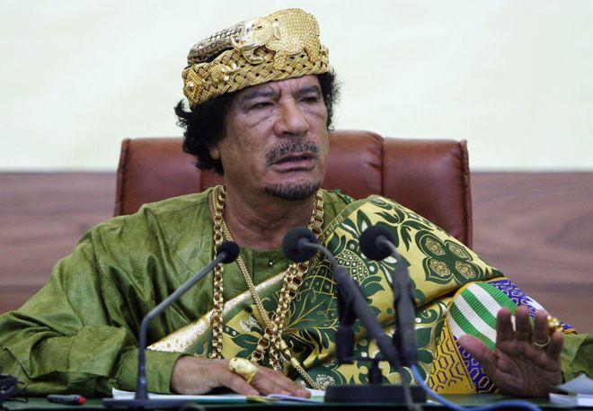 Libya Gaddafi