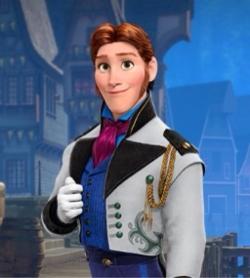 """Hans in """"Frozen"""""""