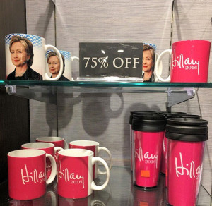 Hillary goods for sale at a discount